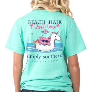 Simply southern beach hair don't care